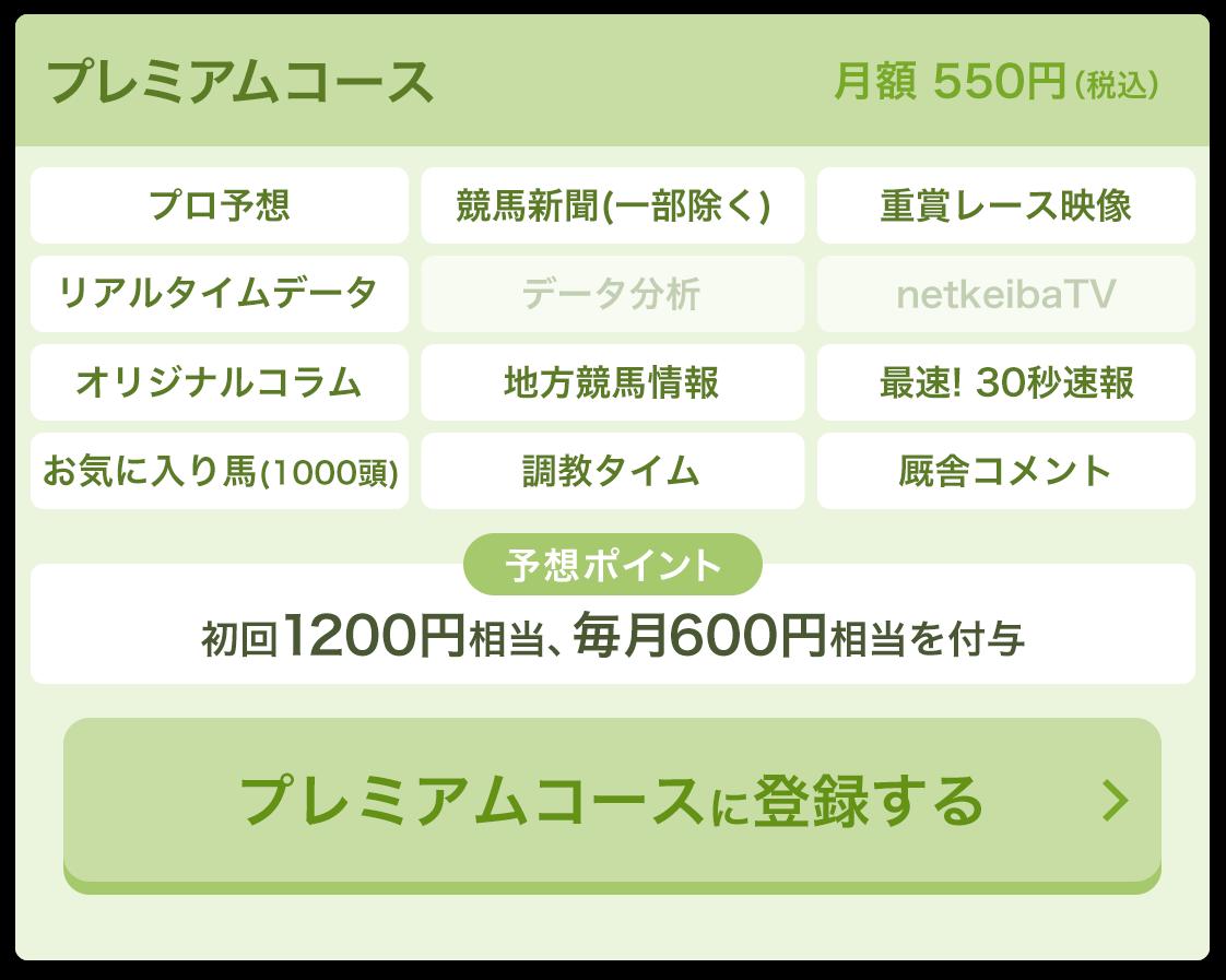 プレミアムコース 月額500円
